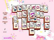 Hello Kitty Mahjong game