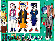 Naruto character dressup Spiele