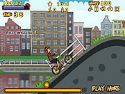 Biking in Amsterdam game