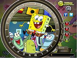 Spongebob Hidden Alphabets game