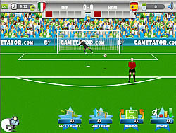 Gioca gratuitamente a Euro 2012 Free Kick