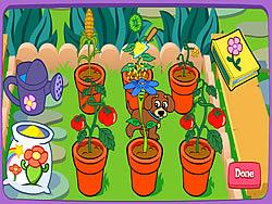 Dora's Magical Garden game