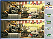 Animal Spot the Difference game