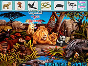 Forest Animals Hidden Objects game