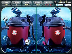 Permainan Wall E - Spot the Difference