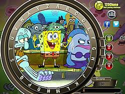 Spongebob Squarepants Hidden Alphabets game