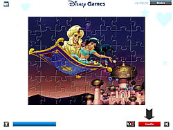 Aladdin and Princess Jasmine game