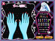 Play Monster high manicure Game