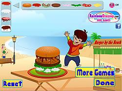 Burger Mania Decorate game