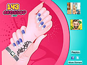 Cute Nail Makeover game