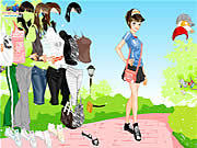 Play Dressup in the park Game