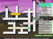 Creepy Crossword game