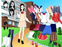 Jogar jogo grátis School Girl