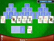 Chơi trò chơi miễn phí Vegas Solitaire TriPeaks