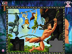 Tarzan Puzzle game