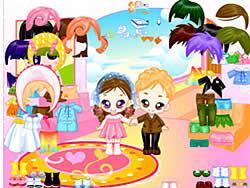 Gioca gratuitamente a Leo and Lea Dressup