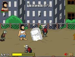 Gioca gratuitamente a Hobo vs Zombies