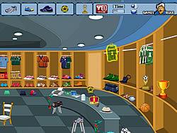 Gioca gratuitamente a Soccer Dressing Room