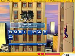 Jouer au jeu gratuit Spiderman 2 - Web of Words