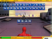 Play Spiderman 2 web of words Game