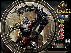 Jogar jogo grátis God of War 4 - Find the Numbers