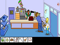 Homero Simpson Saw Game game
