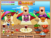 Lisa's Beach Cocktails game