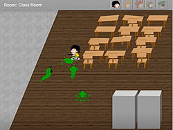 School Invaders game