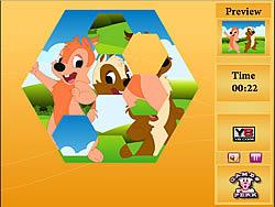 Crazy Puzzle-Teddy game