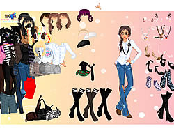 Permainan Fashion Dress-up