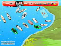 Kayak Boat Parking game