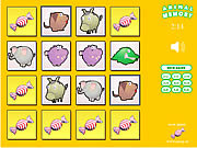 Play free game Snoep Animal Memory