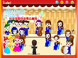 Gioca gratuitamente a Choir Singing and Decorating
