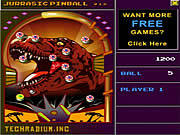 Play Jurassic pinball Game