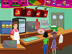 Grandma Cafe game