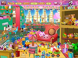 Girls Messy Room game