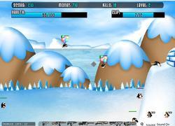 Perang Penguin game
