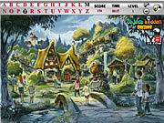 Village Hidden Alphabets Game game