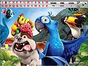Rio and Kong Hidden Alphabets game