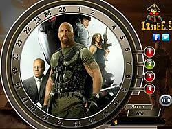 GI Joe Retaliation - Find the Numbers game