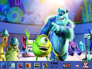 Hidden Spots-Monsters University game