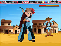The Kissing Cowboy game
