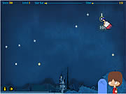 Outer Space Trace game