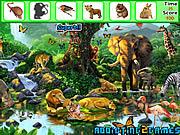 Safari Animals Hidden Objects game