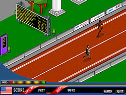 Grab the Glory: 100 Meter Sprint