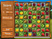 Chơi trò chơi miễn phí Fresh Fruit Gold Match