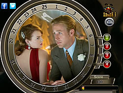 Gangster Squad - Find the Numbers game