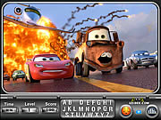 Cars 2 Find the Alphabets game