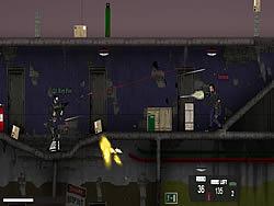 Intruder Combat Training game
