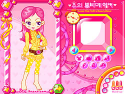 Sue's Dating Dress up game